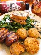 Falafel Casero Boniato de Málaga Pepino encurtido