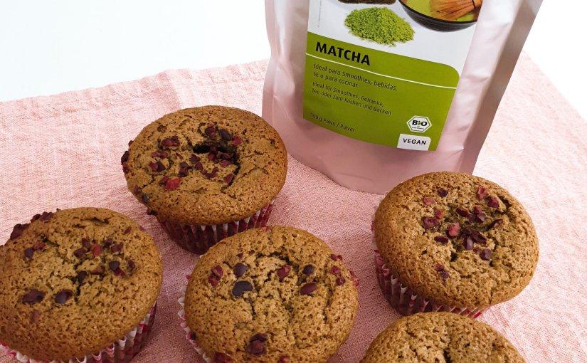 Muffins de Matcha, atrévete a probarlo en recetas sanas ydeliciosas.