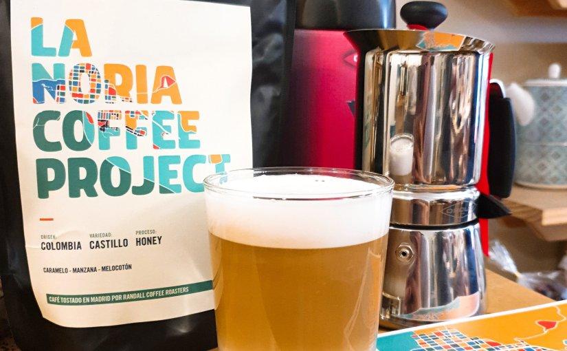 Café de especialidad La Noria Coffee Project en la tienda Té ValleGourmet.