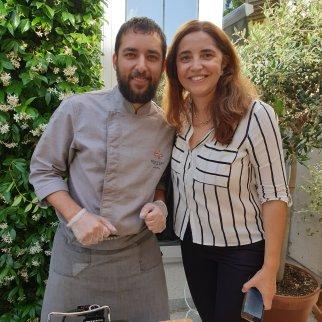 Alex Pilar y Carolina de NaturaSi