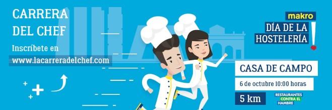 I Carrera del Chef por el Día de la Hostelería