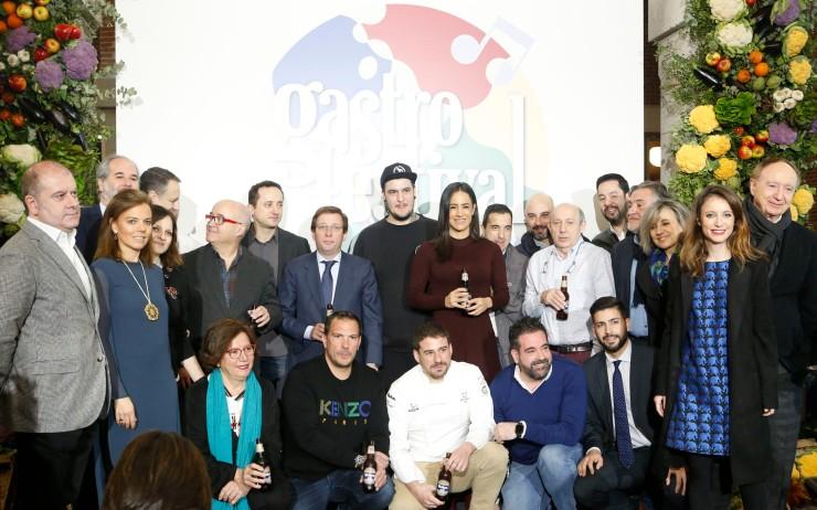Foto de familia_presentacion_Gastrofestival Madrid 2020