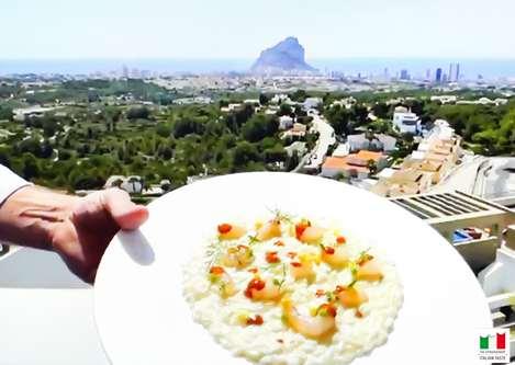 Primera masterclass True Italian Taste del chef FerdinandoBernardi
