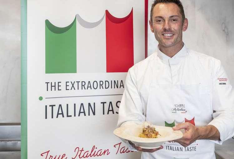 Segunda masterclass True Italian Taste del chef FerdinandoBernardi